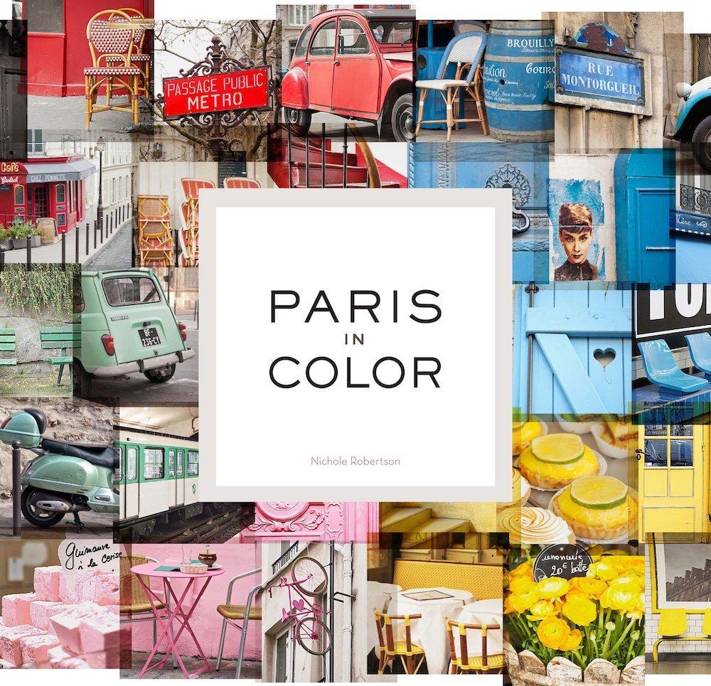Paris in Color Book
