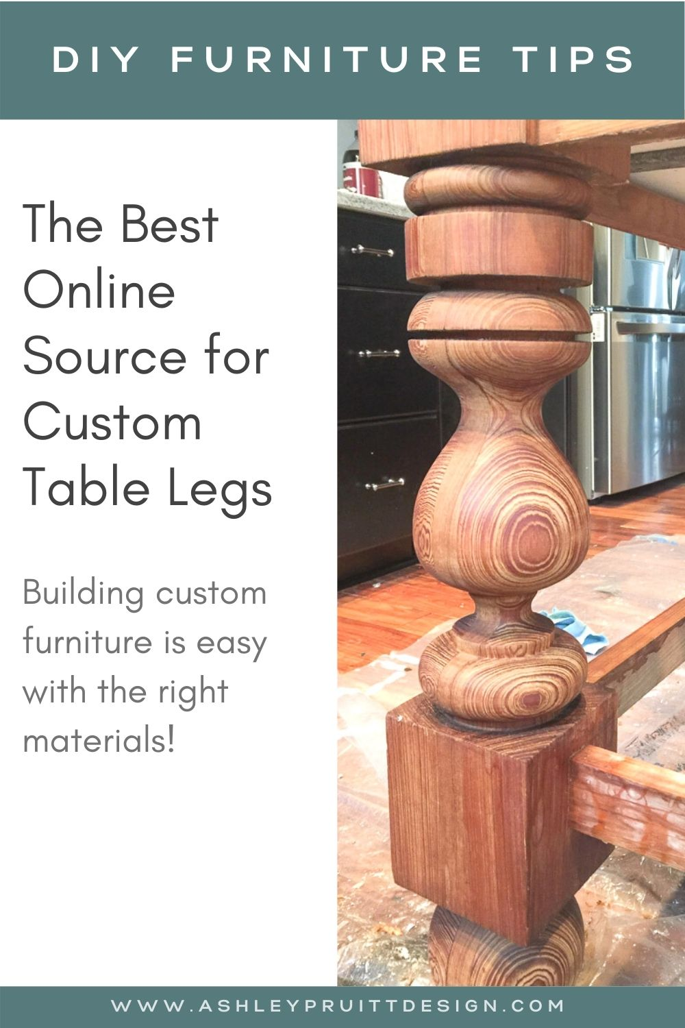 The Best Table Legs for DIY Furniture Projects