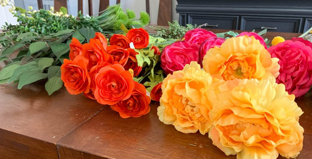 Group Flowers by Color