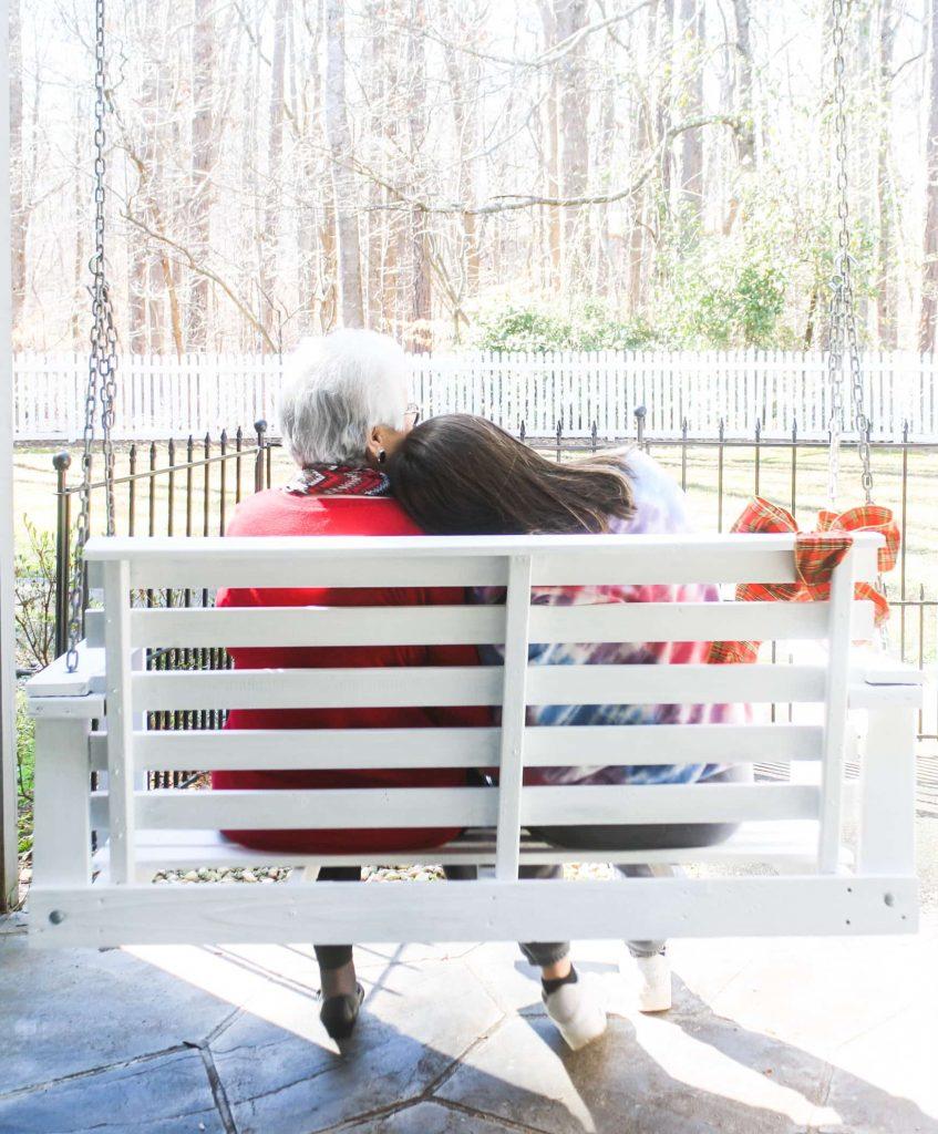 restore vintage porch swing