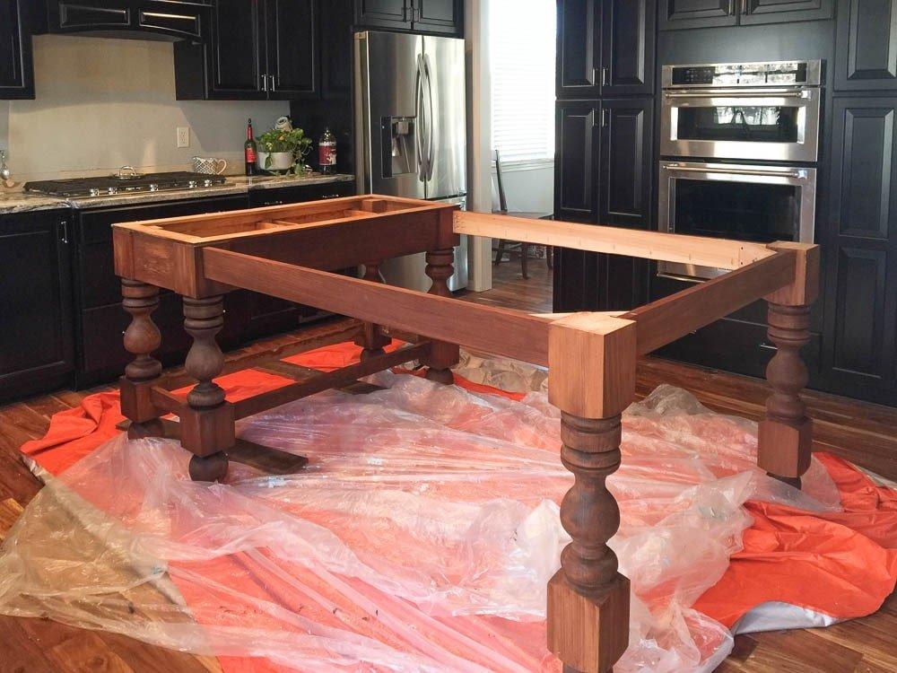 Osborne Wood Table Kit for Kitchen Island