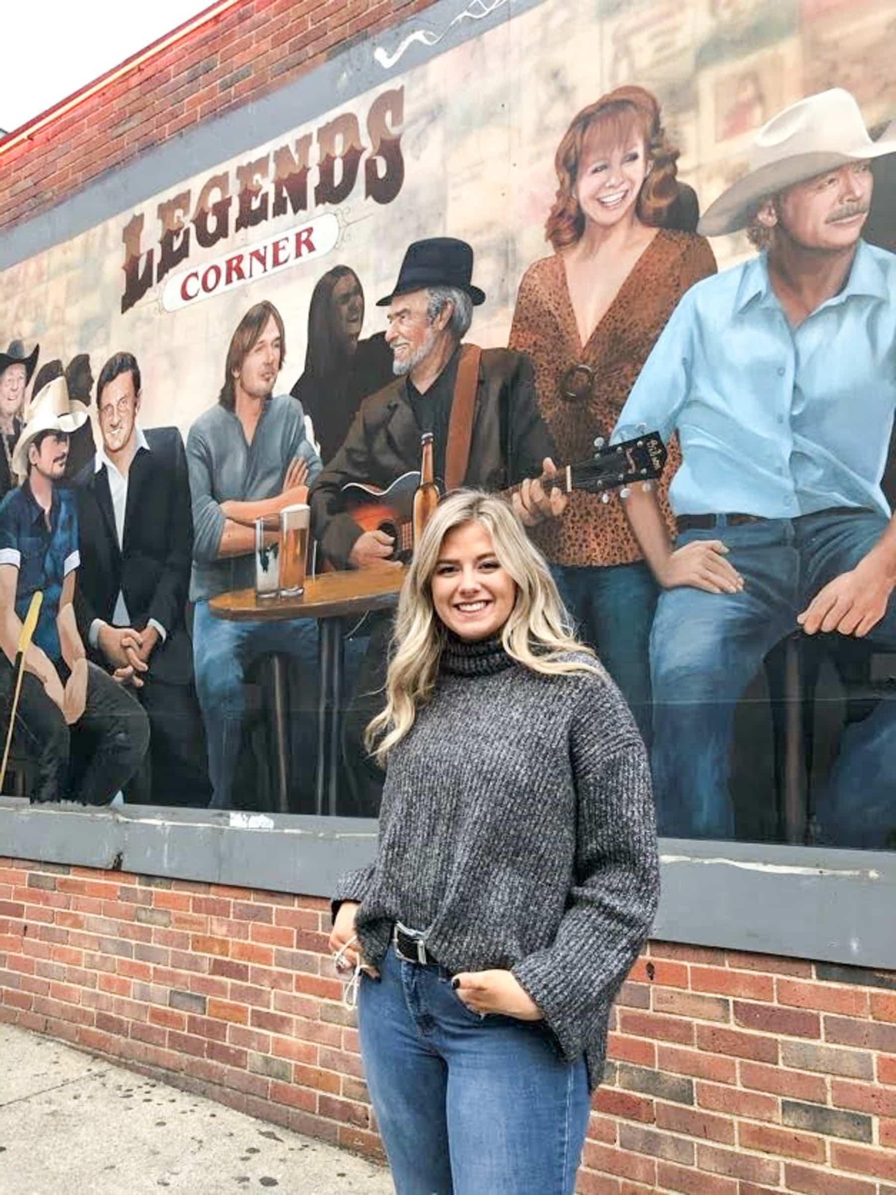 Legends Corner Mural Nashville