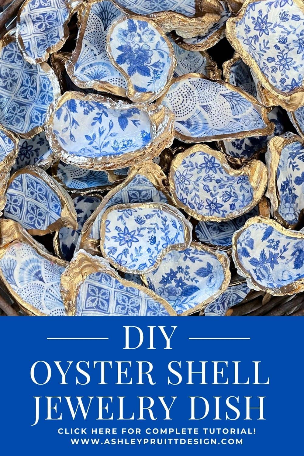 How To Make An Oyster Shell Jewelry Dish