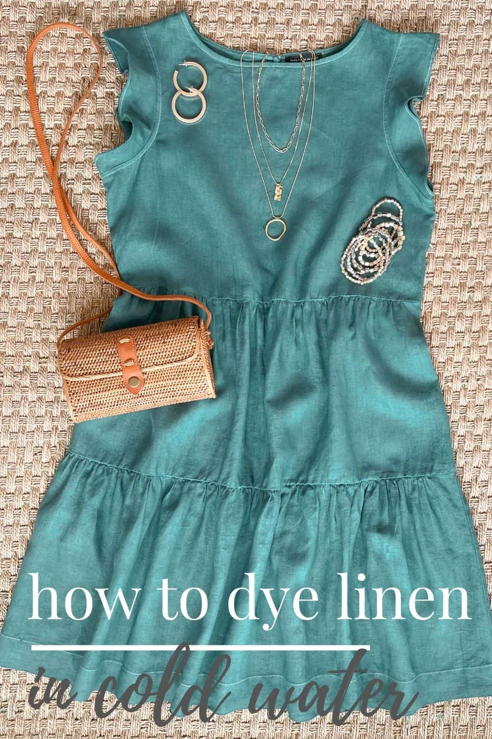 How To Dye Linen Fabric In Cold Water