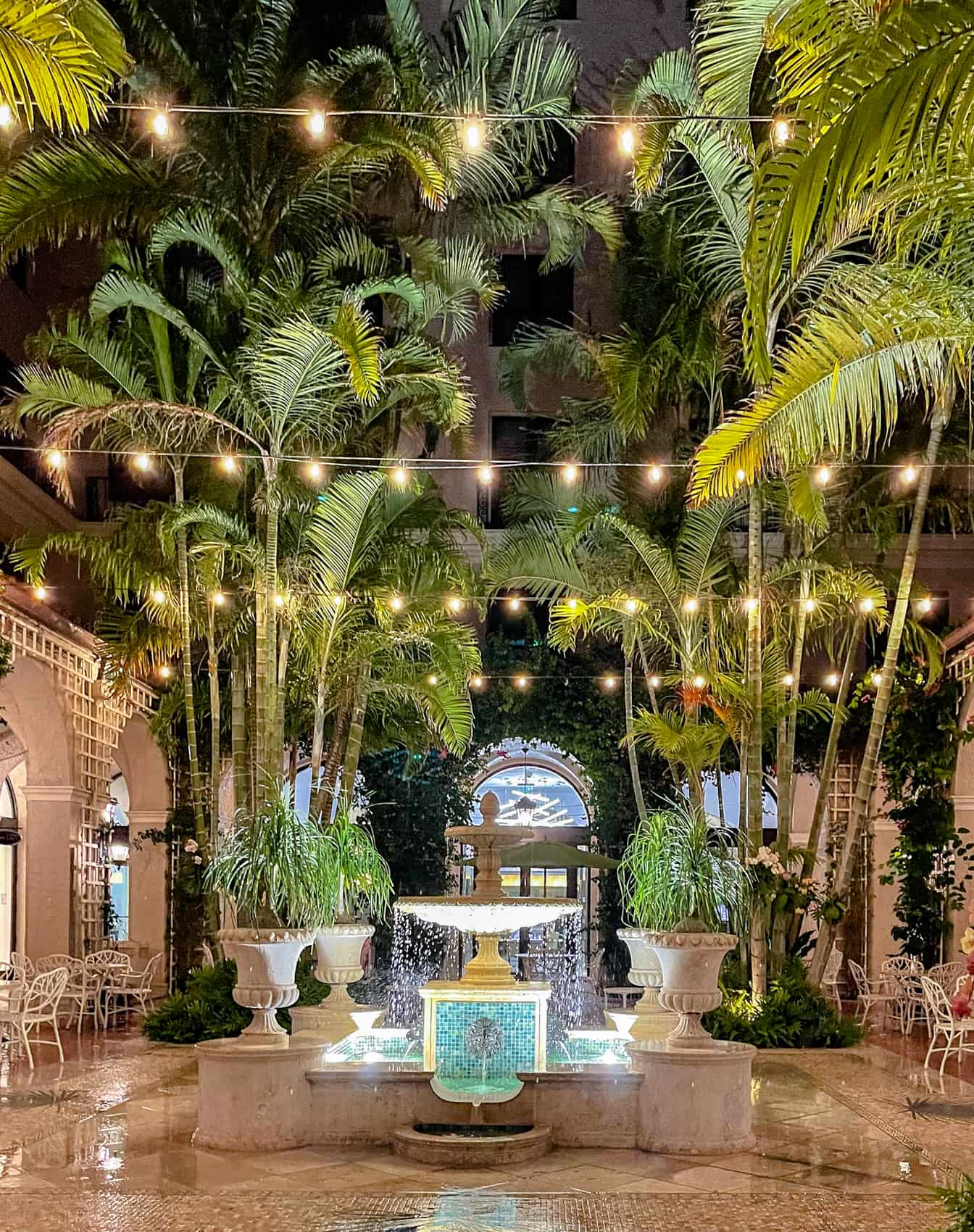 palm court the breakers palm beach