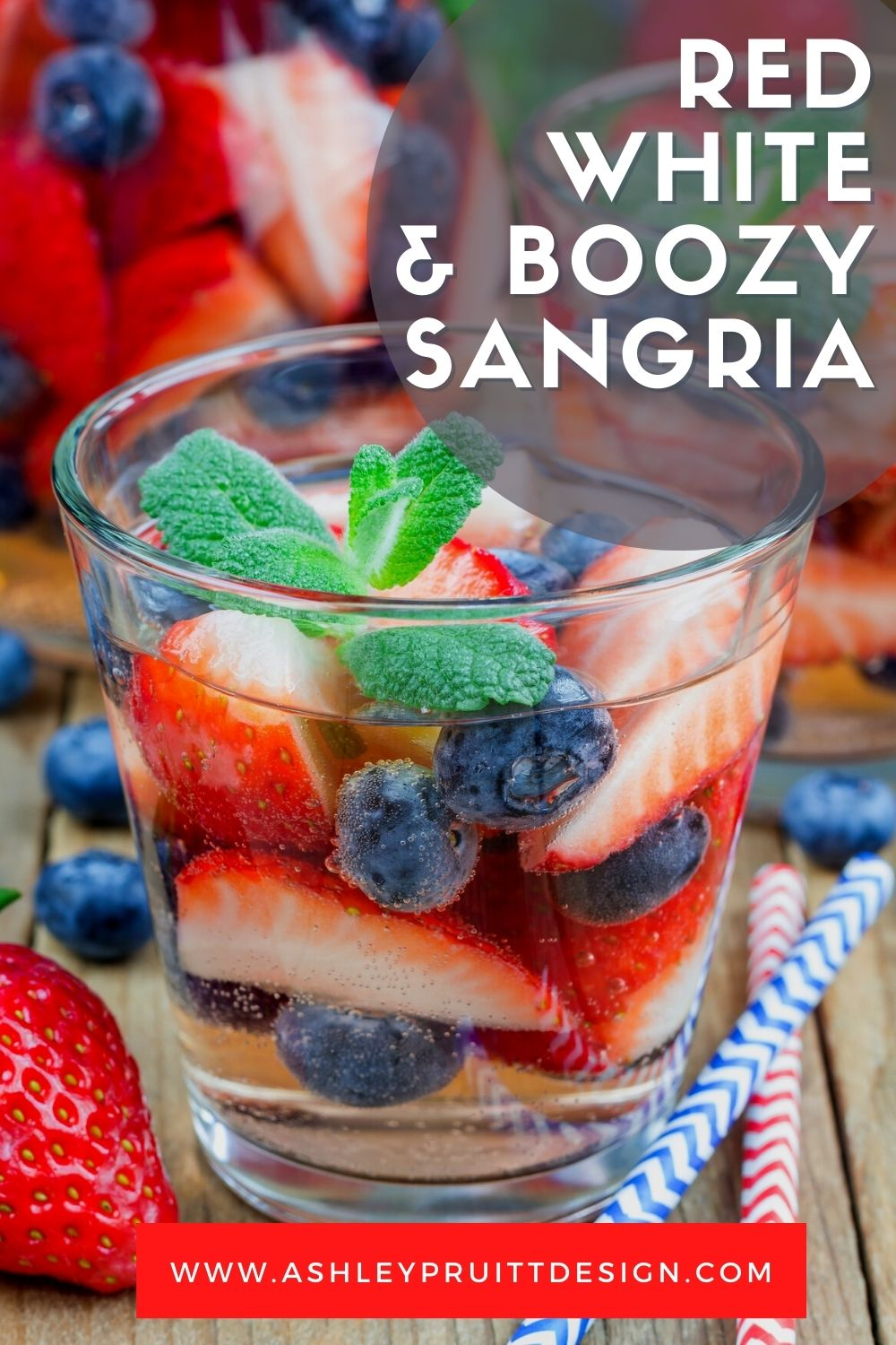 Red White And Boozy Patriotic Cocktail For Your Fourth of July Party