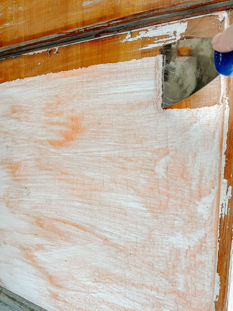 remove old paint with citristrip